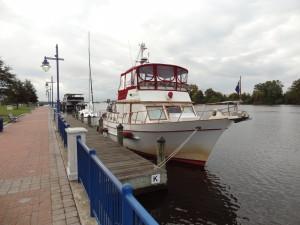Washington NC free town dock