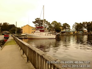 Oriental NC Town Dock