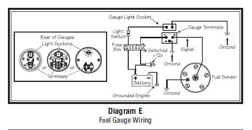 vdo fuel guage wiring   21 wiring diagram images
